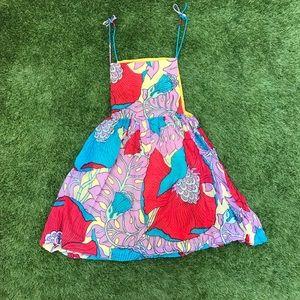 vintage floral dress size XS
